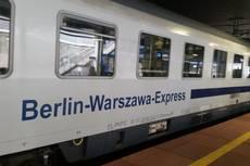 Unterwegs im Berlin-Warszawa-Express