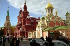 Moskau Roter Platz mit Kirche (Foto: Thomas Depenbusch CC)