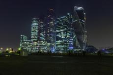 Moskau bei Nacht (Foto: Коля Саныч, Lizenz: CC)