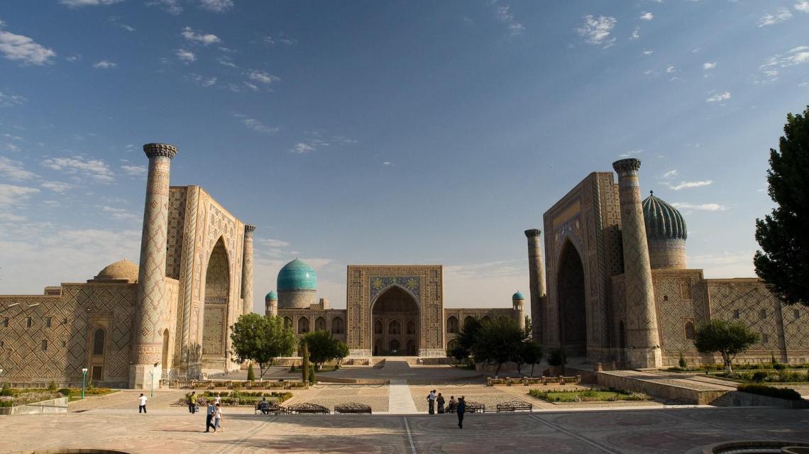 Sonderzugreise Registan: Die Sagenhafte Seidenstraße von West nach Ost 2019