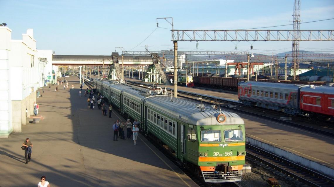 Die Transsibirische Eisenbahn (Russland)
