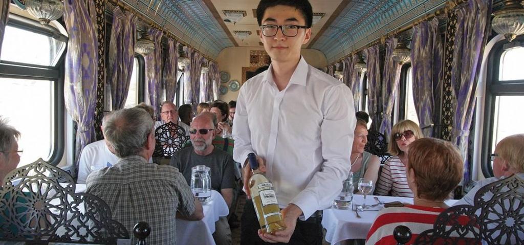 Service im Orient Silk Road Express