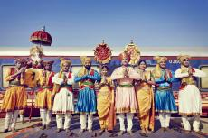 Willkommen an Bord des Luxuszuges Deccan Odyssey