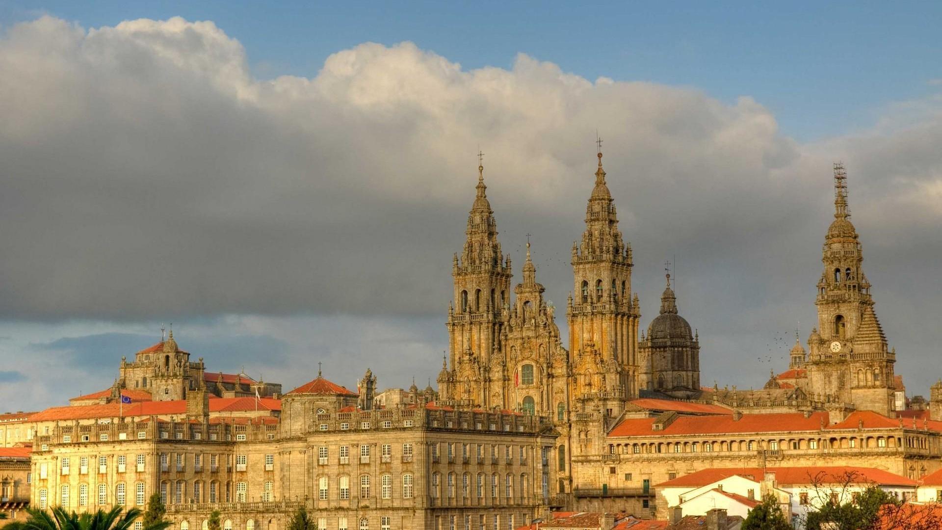 Santiago de Compostella mit der Kathedrale | Spanien