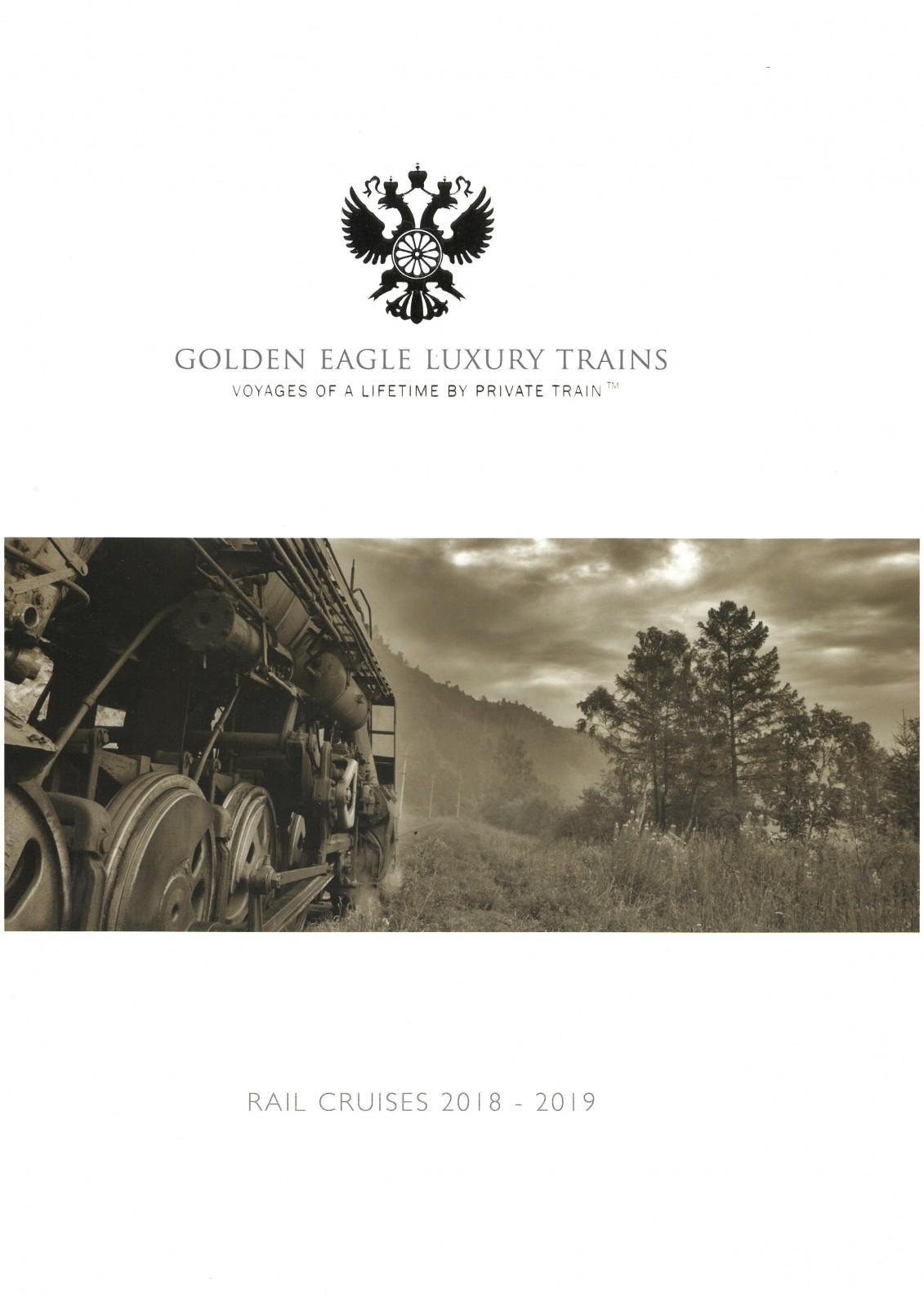 Katalogtitel Golden Eagle Luxury Trains - Rail Cruises 2018 - 2019