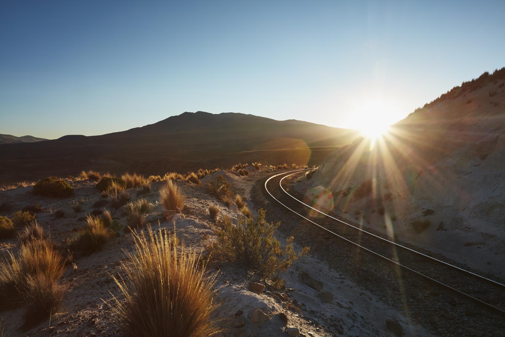 Andean Explorer Schienen 1