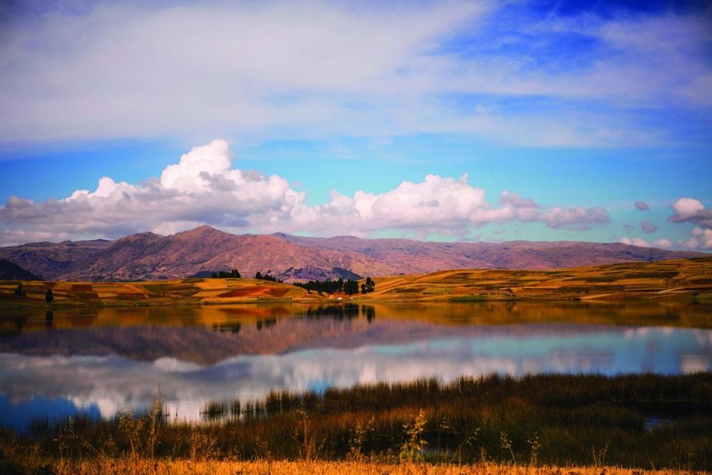 Landschaft Peru Fahrt mit Belmond Hiram Bingham