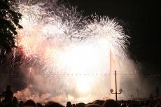 Feuerwerk Genfer See