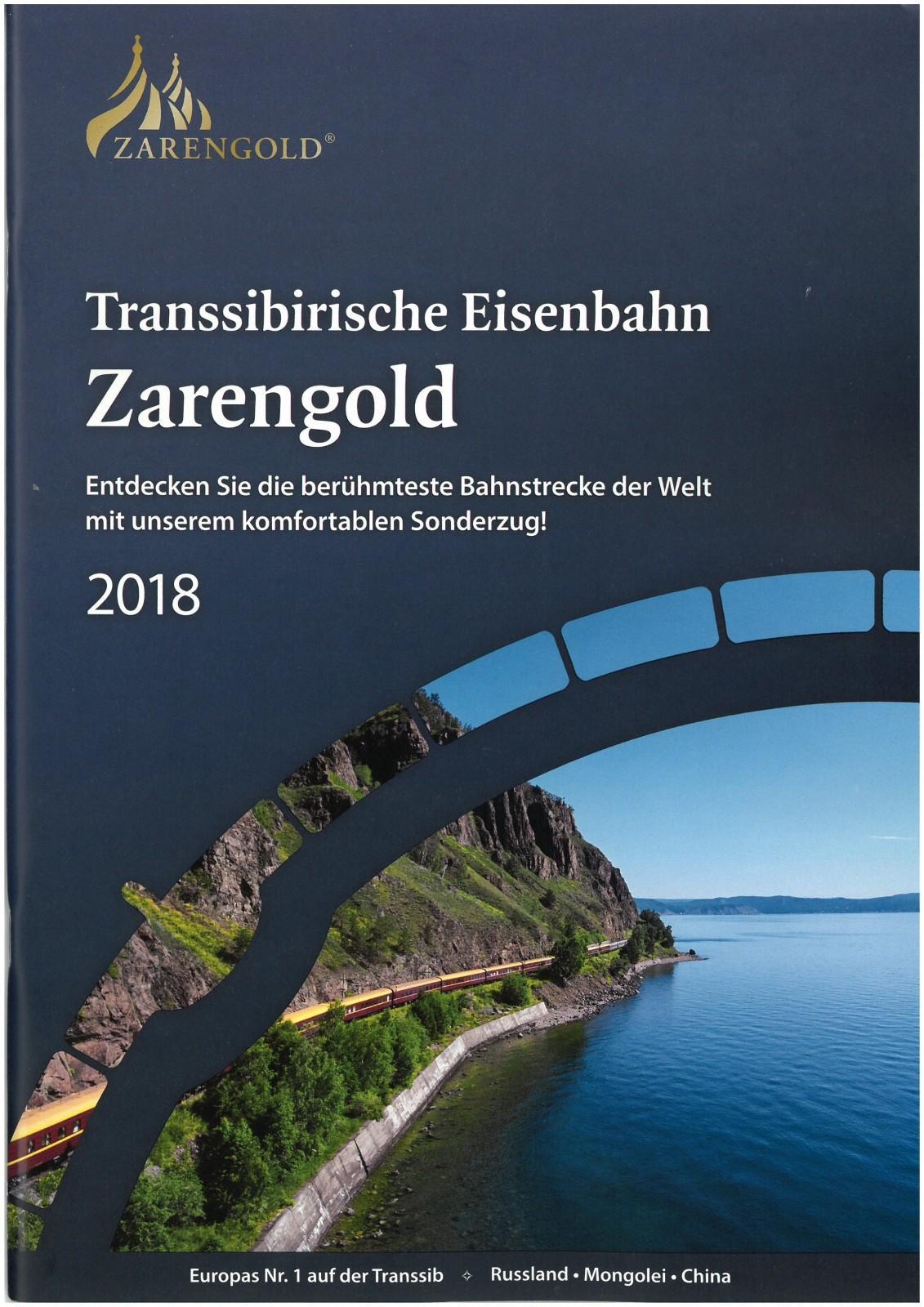 Katalogtitel Zarengold 2018