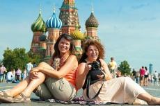 Auf dem Roten Platz - Moskau