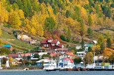 Port Baikal am Baikalsee