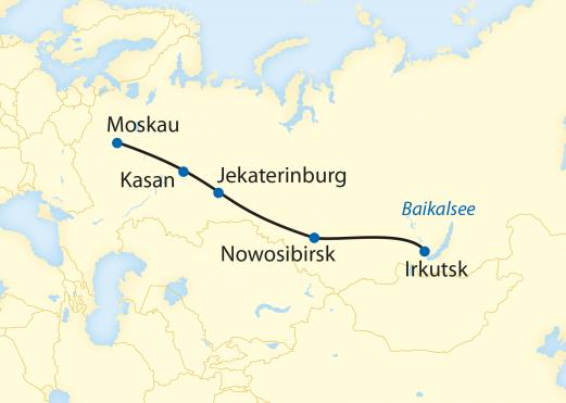 Zarengold vom Baikalsee bis nach Moskau
