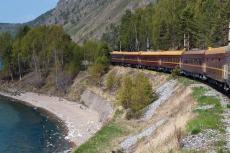 Zarengold - Transsib am Baikalsee (Foto: Roland Jung)