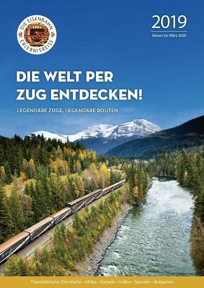 Katalog - Die Welt per Zug entdecken