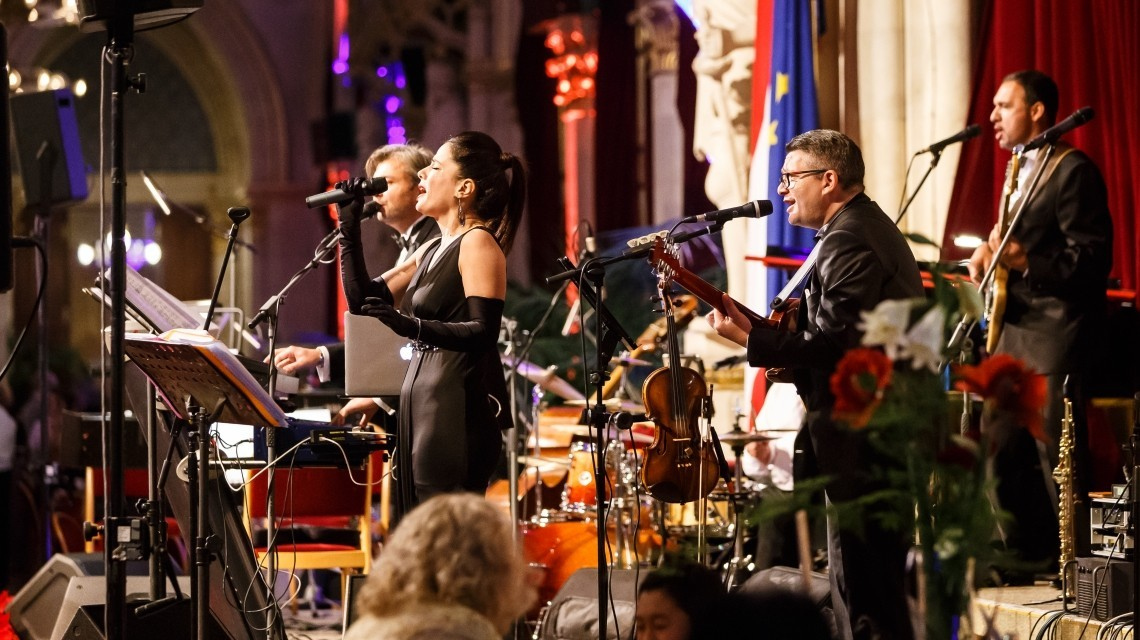 Band Silvestergala Rathaus Wien