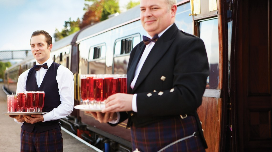 Im Royal Scotsman durch Schottland
