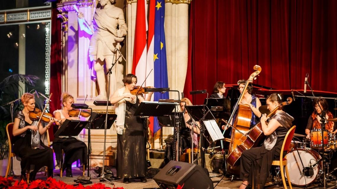 Orchester Silvestergala Rathaus Wien