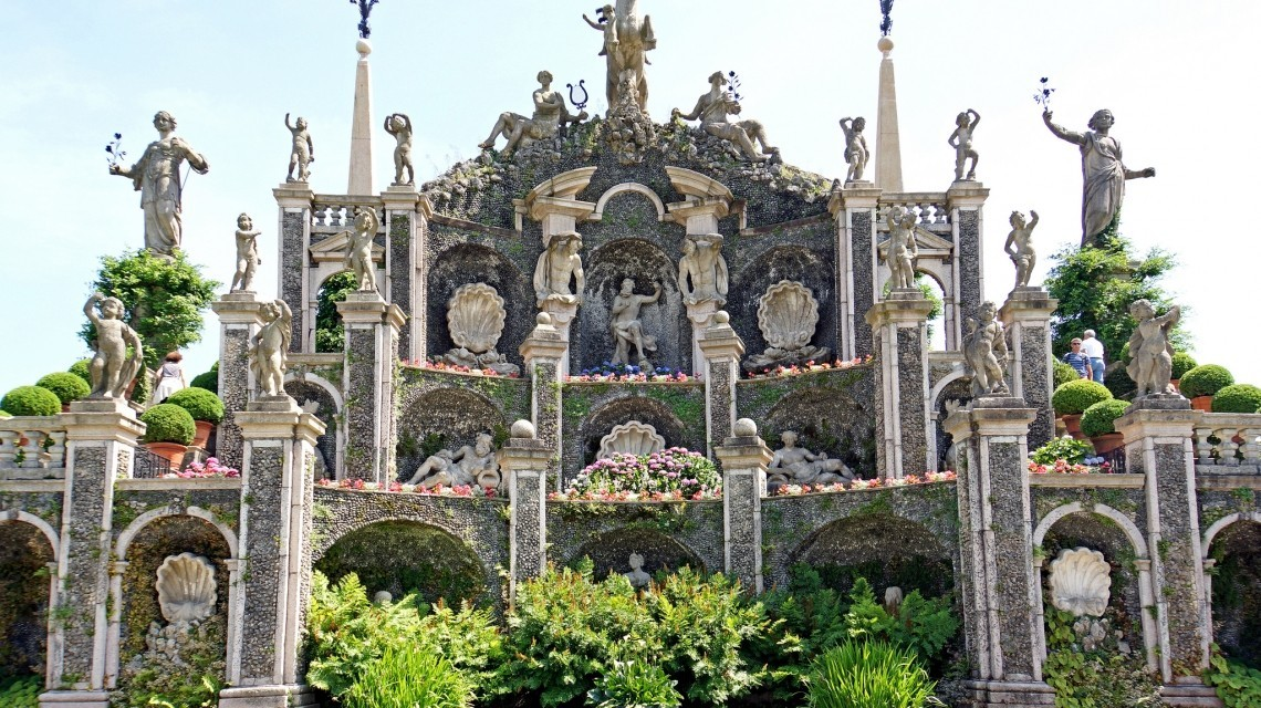 Sculpturen Isola Bella