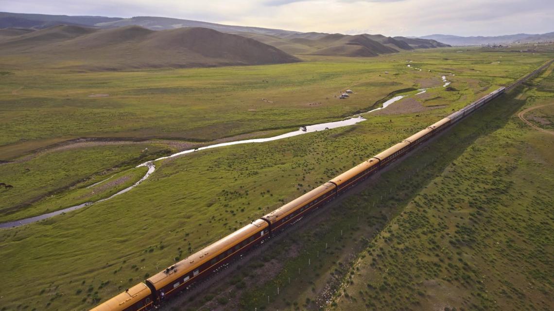 Sonderzugreise Zarengold auf der transsiberischen Eisenbahn