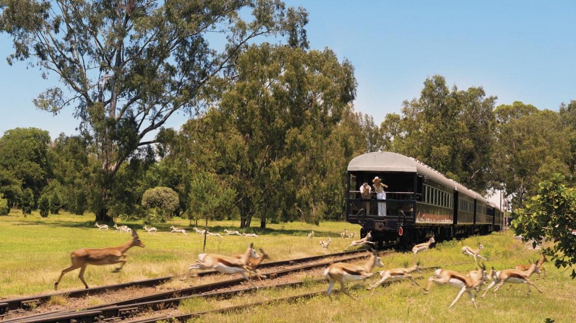 Rovos Rail - von Lobito nach Dar Es Salaam