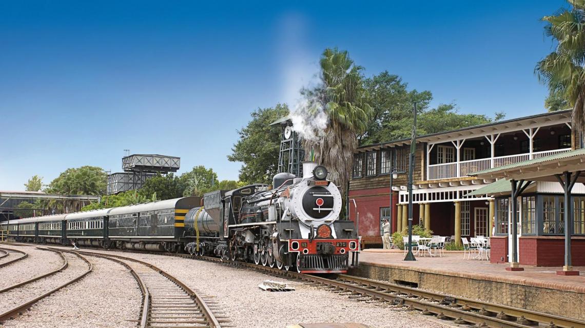 Mit Rovos Rail durch Afrika - Exklusiv-Charter von Kapstadt bis Dar Es Salaam