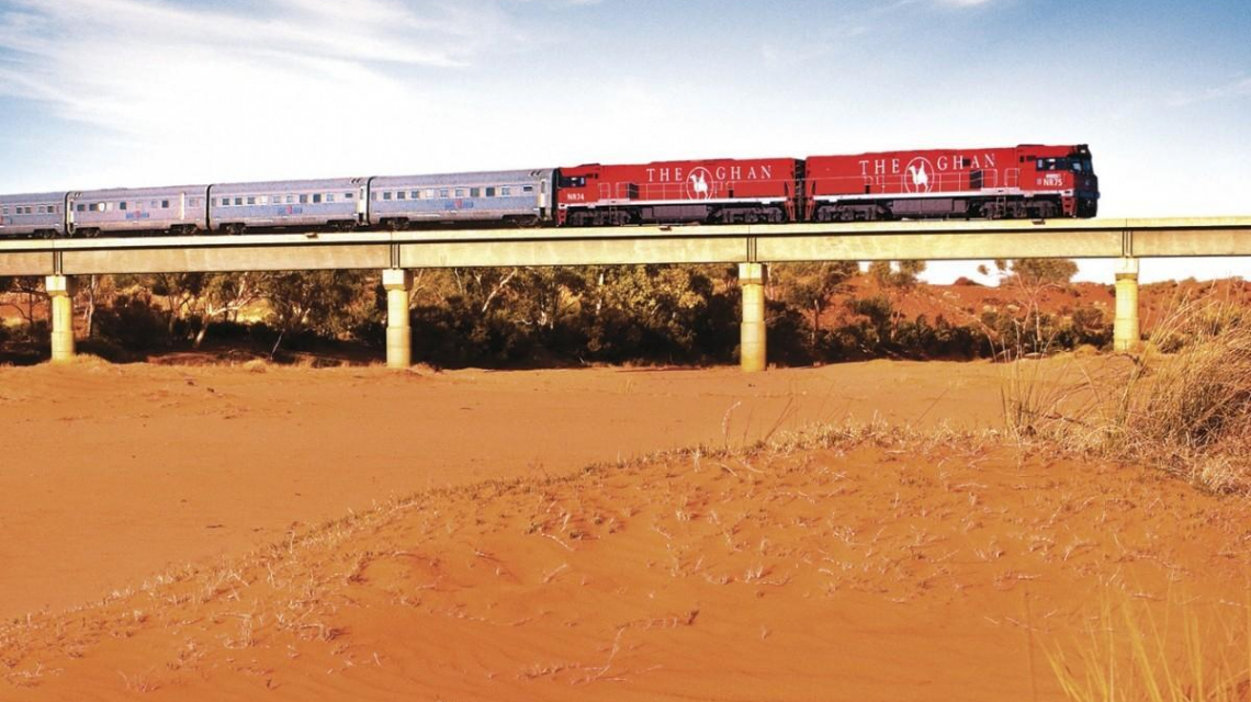 The Ghan und Indian Pacific (Australien)