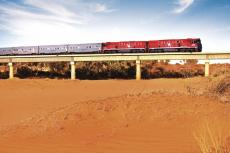 The Ghan - Zug in Australien