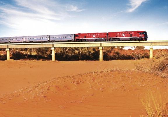 The Ghan - Zug in Australien