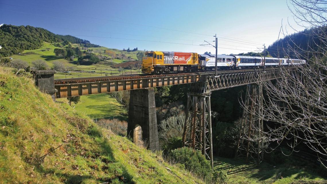 Neuseeland: Die schönsten Zugstrecken am Ende der Welt
