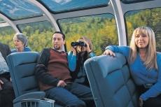 The Canadian | Die Aussicht im Panoramawagen genießen