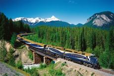 Durch Kanada mit dem Rocky Mountaineer