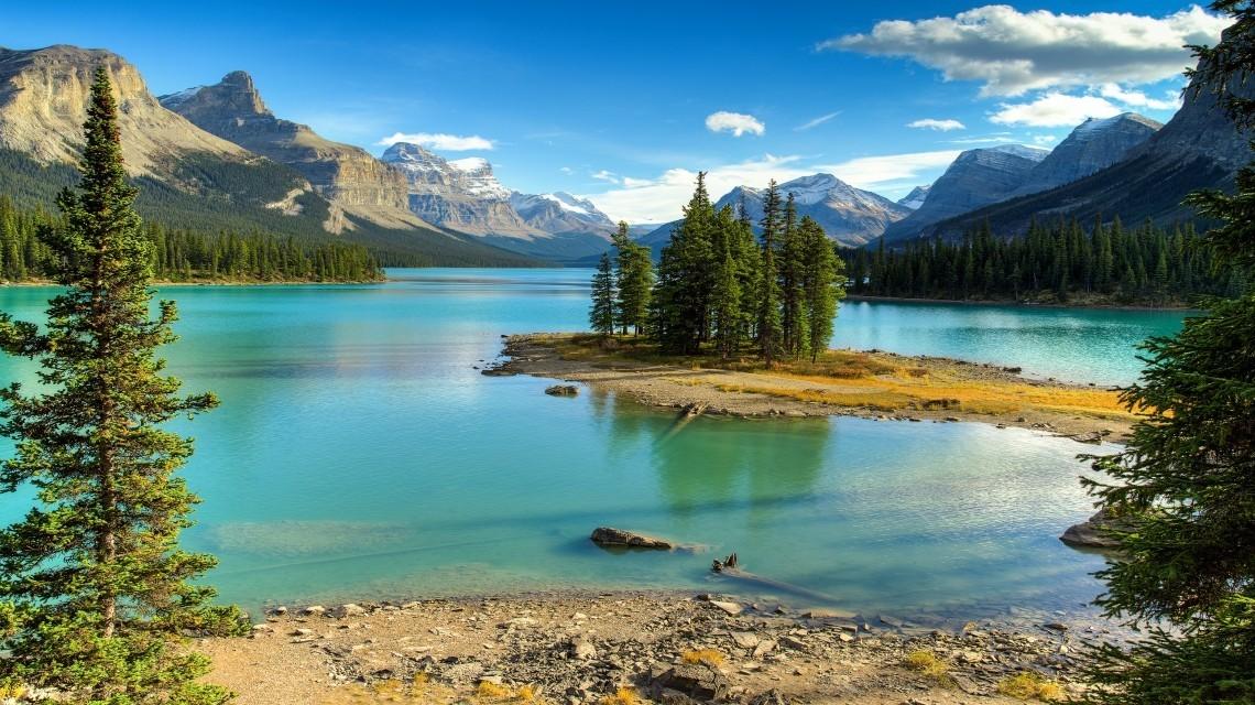 Goldener Ahorn - Kanada per Zug - Die klassische Variante