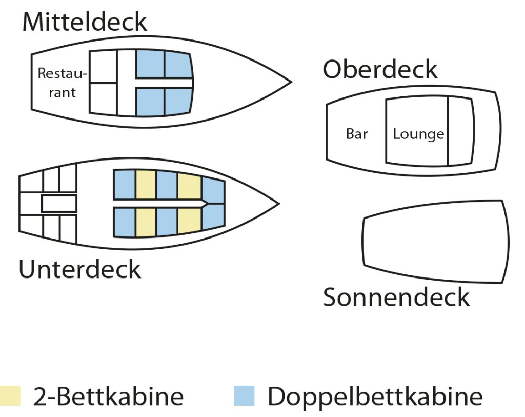 Deckplan - MS Sea Safari VII