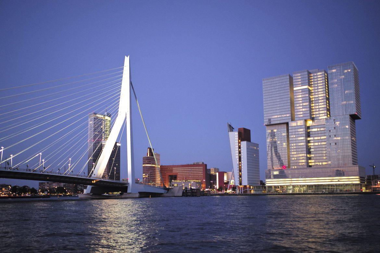 Rotterdam im Morgengrauen