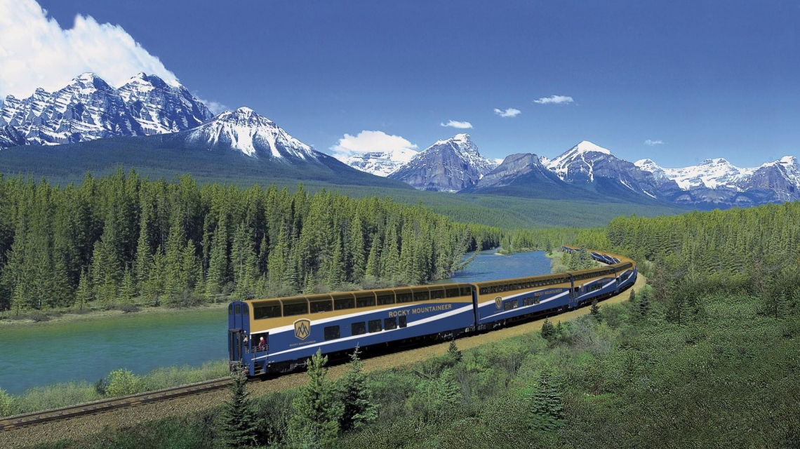 Goldener Ahorn - Kanada per Bahn: Die klassische Variante