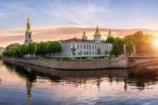 St. Petersburg Nikolaus Kathedrale