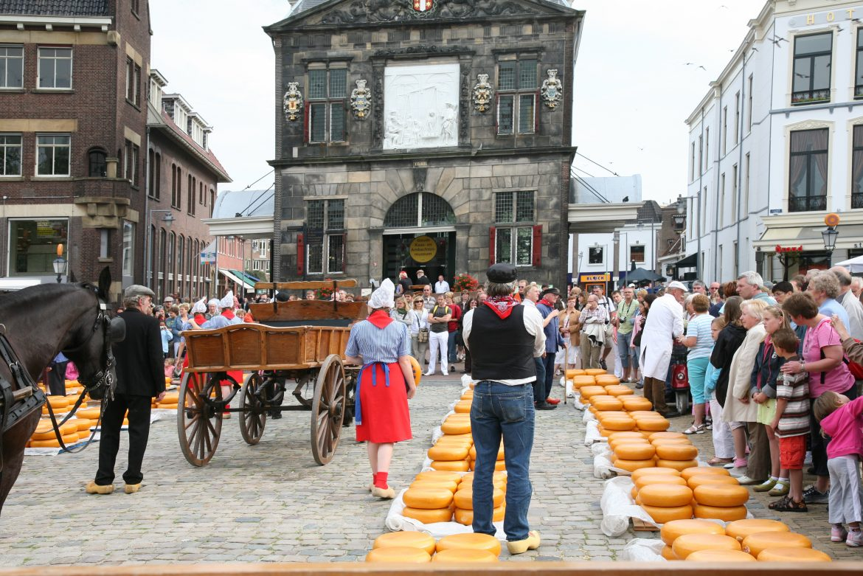Käsemarkt in Gouda
