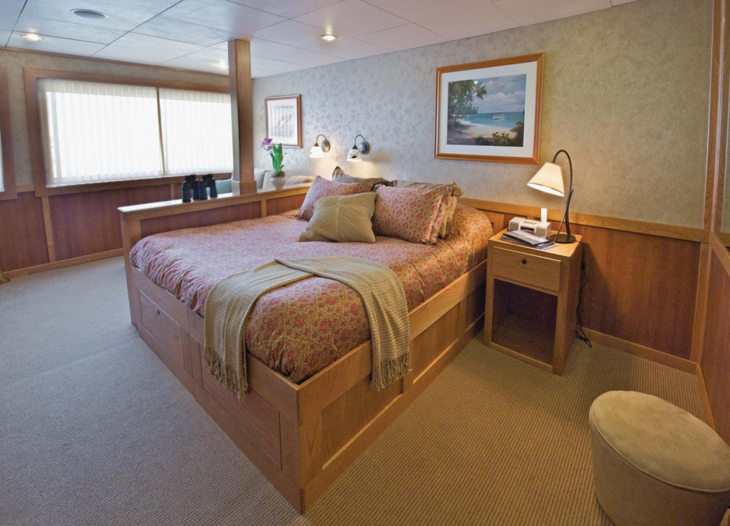 Admiralskabine - MV Safari Explorer