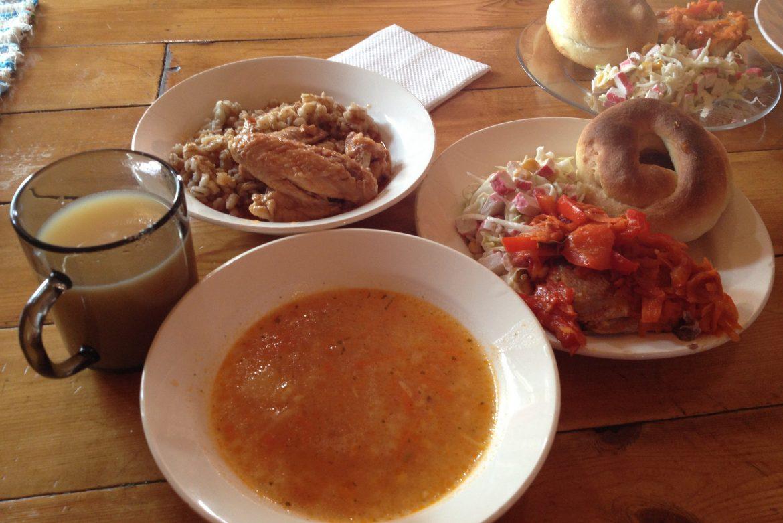 Sibirisches Essen