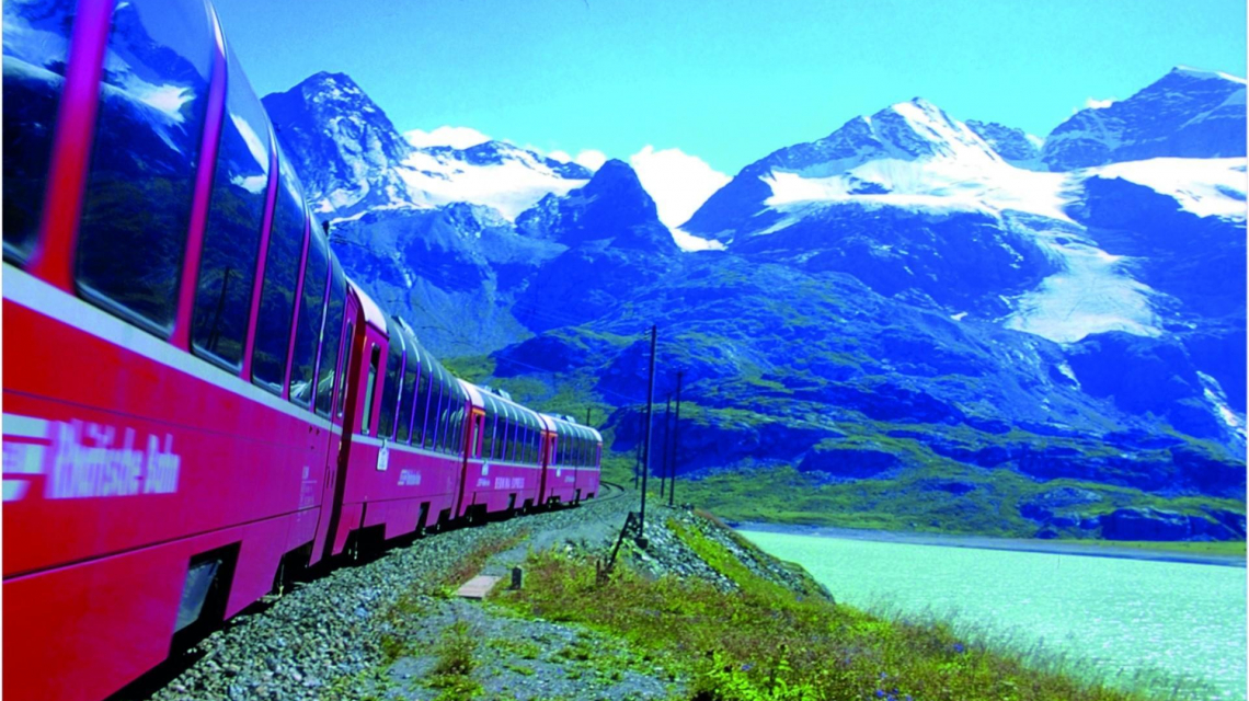 Bernina-Express nach Tirano