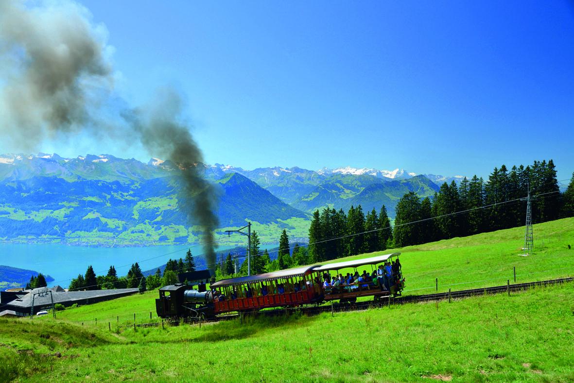 Rigibahnen Zahnradbahn