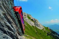 Pilatus - steilste Zahnradbahn der Welt