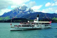 Dampfschiff 'Schiller' auf dem Vierwaldstättersee