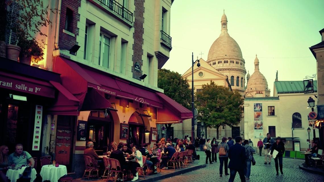 Abendessen in Paris