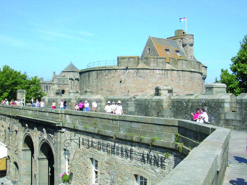 Stadtmauer von St. Malo