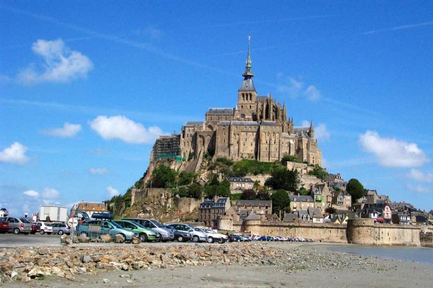 Le Mont-Saint-Michel in der Normandie
