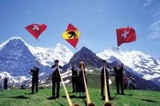 Männlichen (2343 m) im Berner Oberland - Schweiz