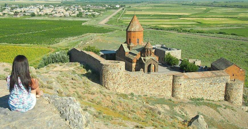 Chor Virap Kloster in Armenien