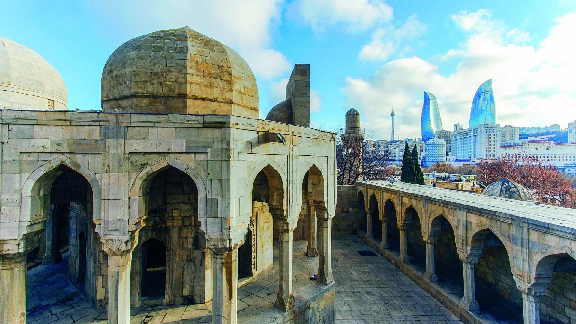Der Palast der Schirwanschahs in Baku | Aserbaidschan