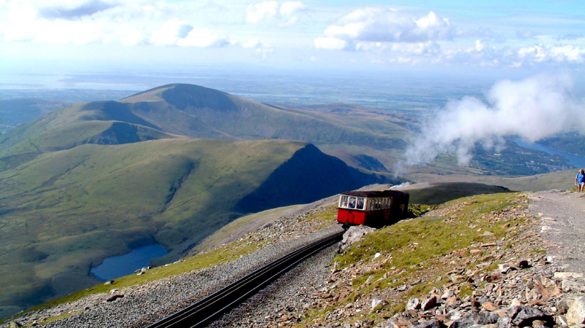 Snowdon Mountain Railway in Wales